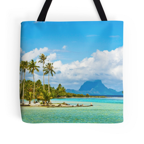 Tahiti Dream Island Tote Bag