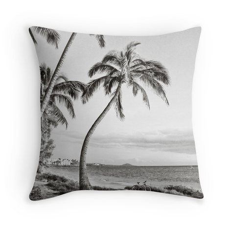 B&W Charley Young Beach Pillow