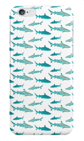 Tahiti Reef Sharks iPhone Case