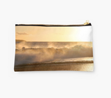 Makena Golden Wave Clutch