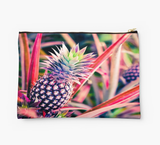 Purple Hawaiian Pineapple Clutch