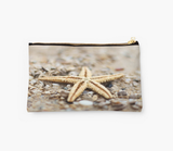 Starfish in the Sand Clutch