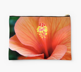 Red Hibiscus Clutch