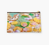 Pastel Sunrise Shells Clutch