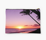 Kaanapali Purple Sunset Clutch