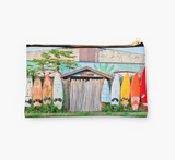 Paia Rainbow Surf Fence  Clutch