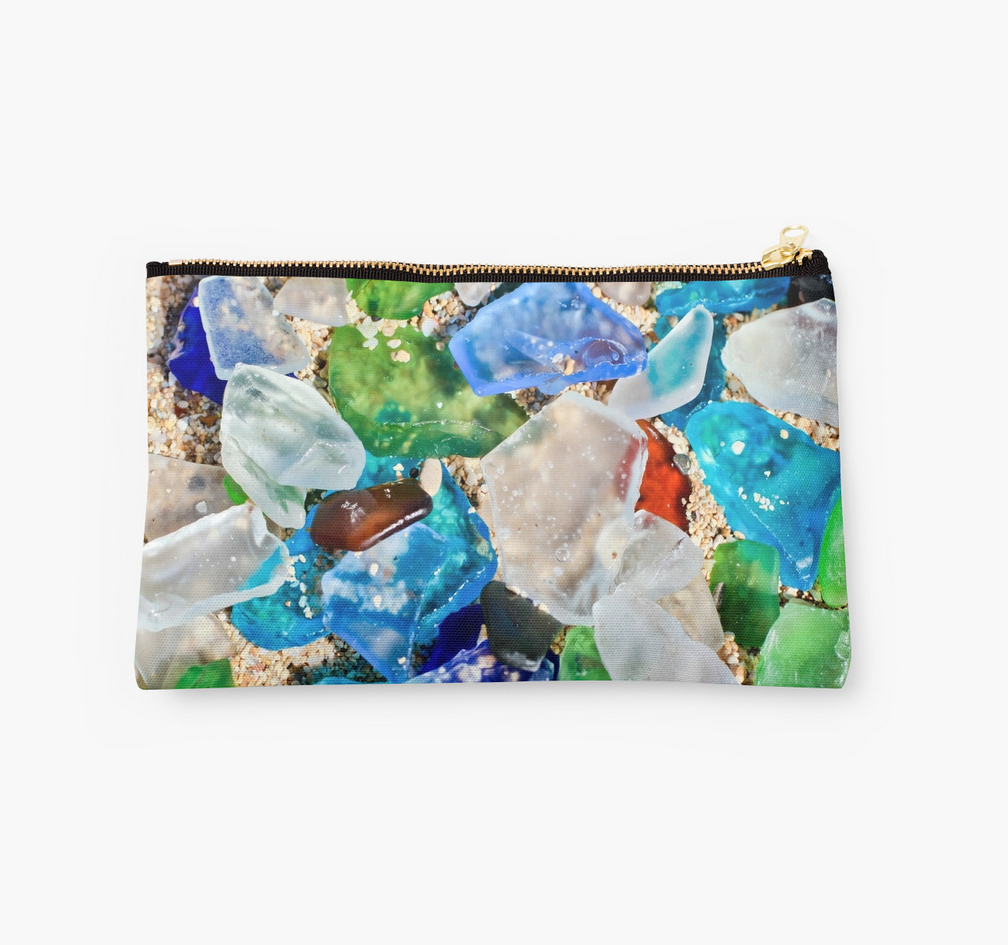Sea Glass Clutch