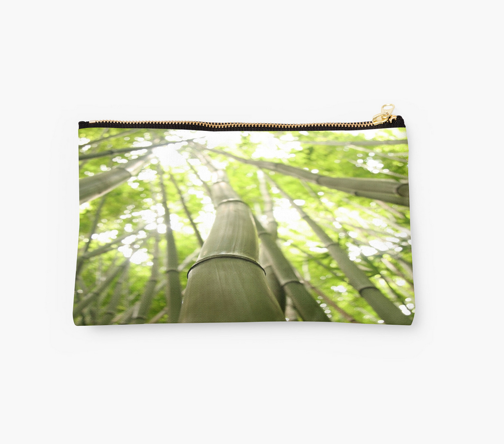 Bamboo Heaven Clutch