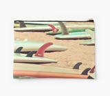 Retro Surf Fins Clutch