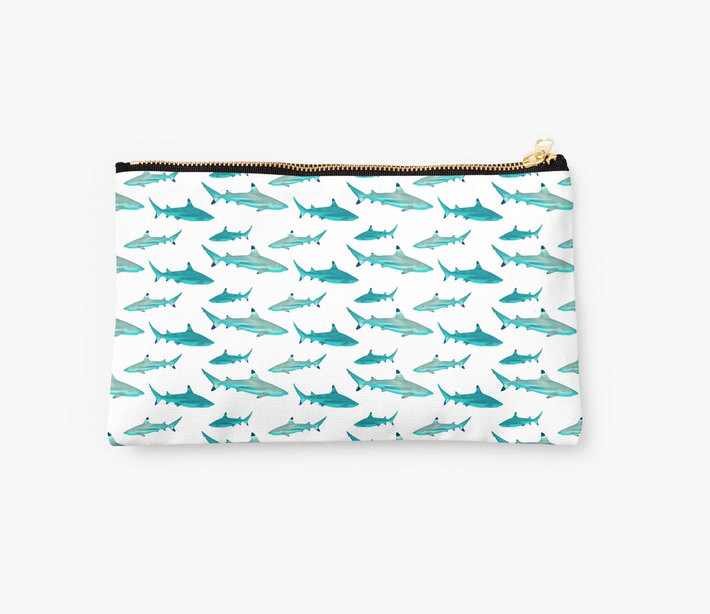 Tahiti Sharks Clutch