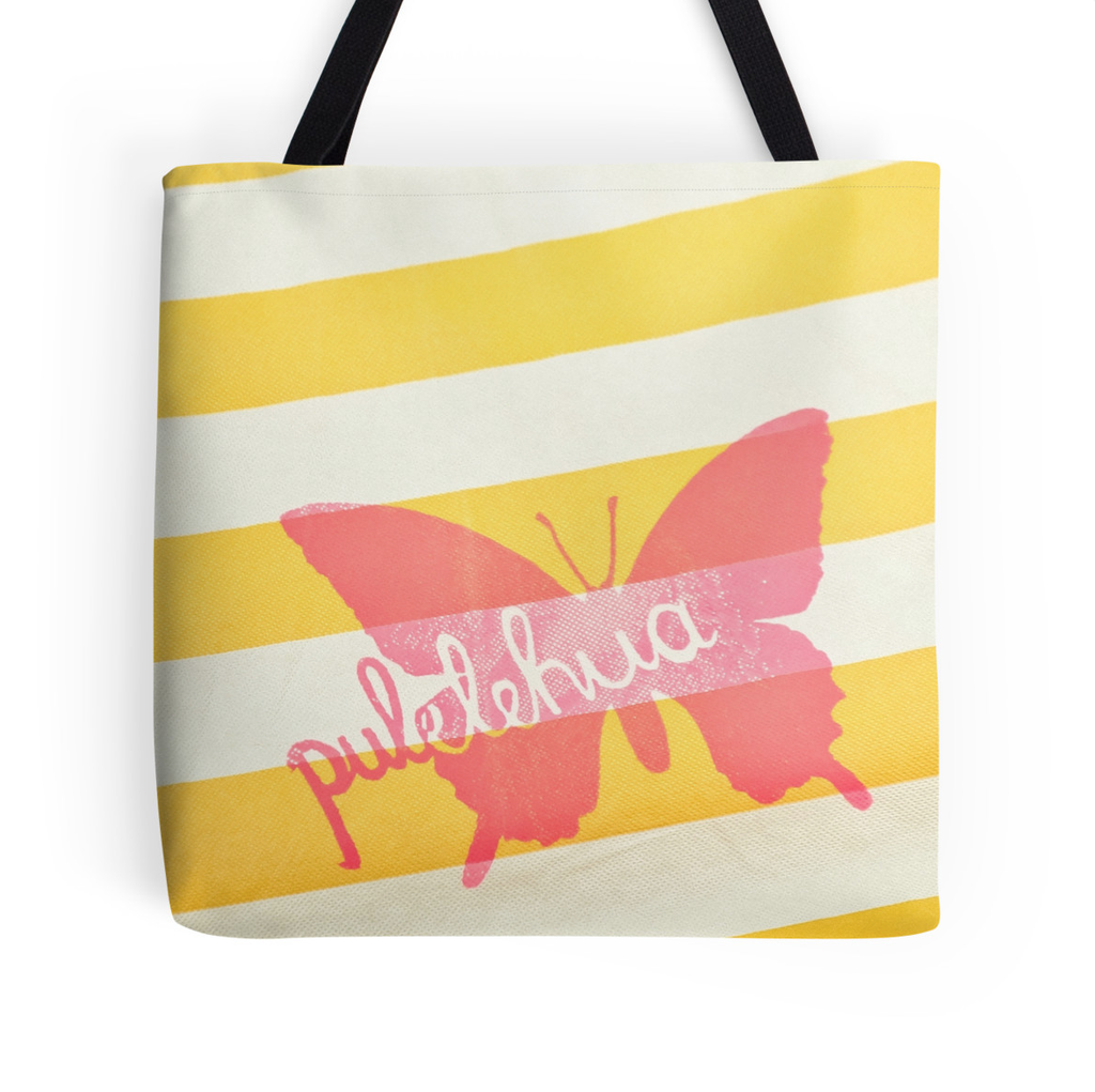Pulelehua Butterfly Tote Bag