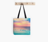 Ho'okipa's Heavenly Sunset Tote Bag