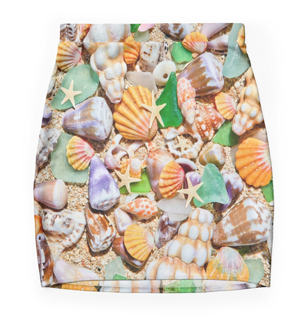 Mermaid Seashells Skirt