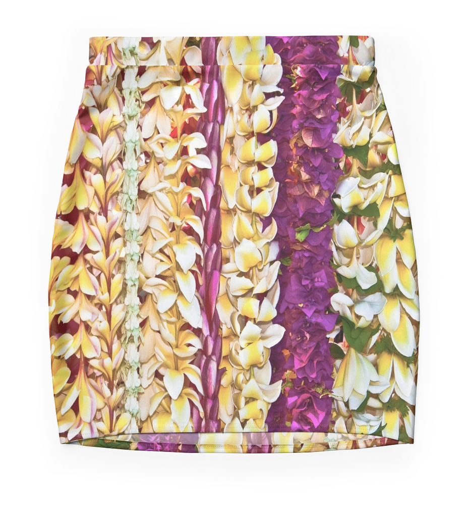 Hawaiian Leis Skirt