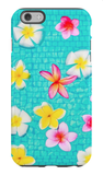Colorful Floating Plumeria iPhone Case