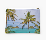 Lani Kai & Palms Clutch
