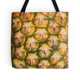 Pineapple Skin Tote Bag