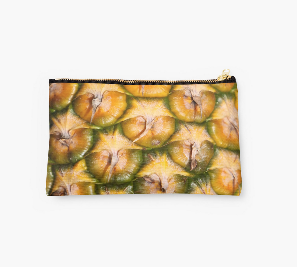 Pineapple Skin Clutch