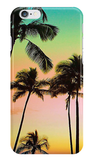 Neon Sunset Palms iPhone Case