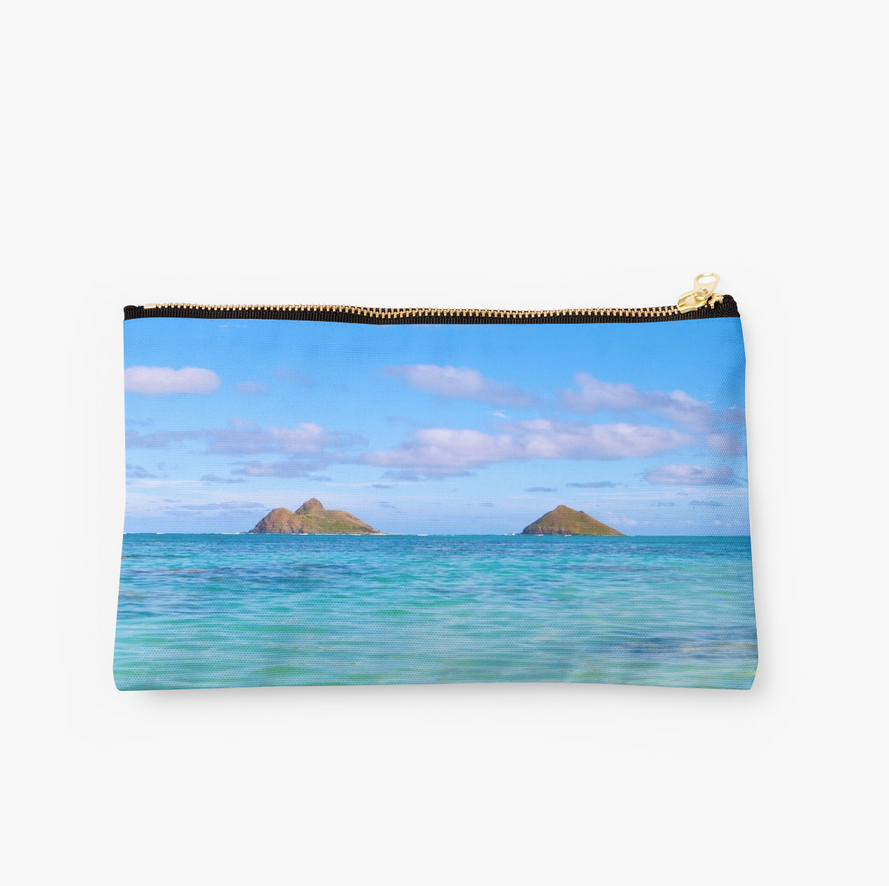 Lani Kai's Ocean Blues Clutch