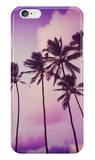 Purple Sunset Palms Case