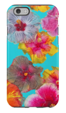 Hibiscus Pool Party iPhone Case