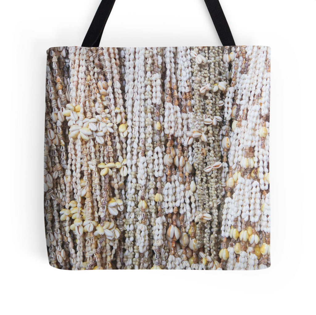 Tahiti Shell Leis Tote Bag