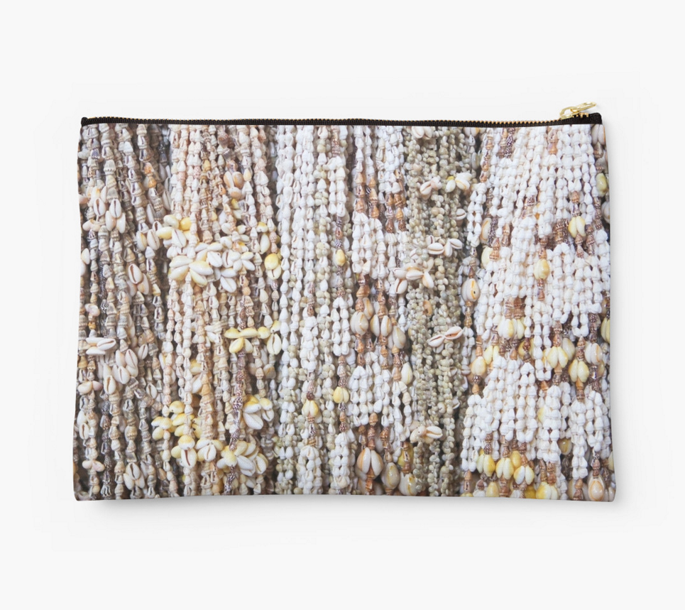 Tahiti Shell Leis Clutch