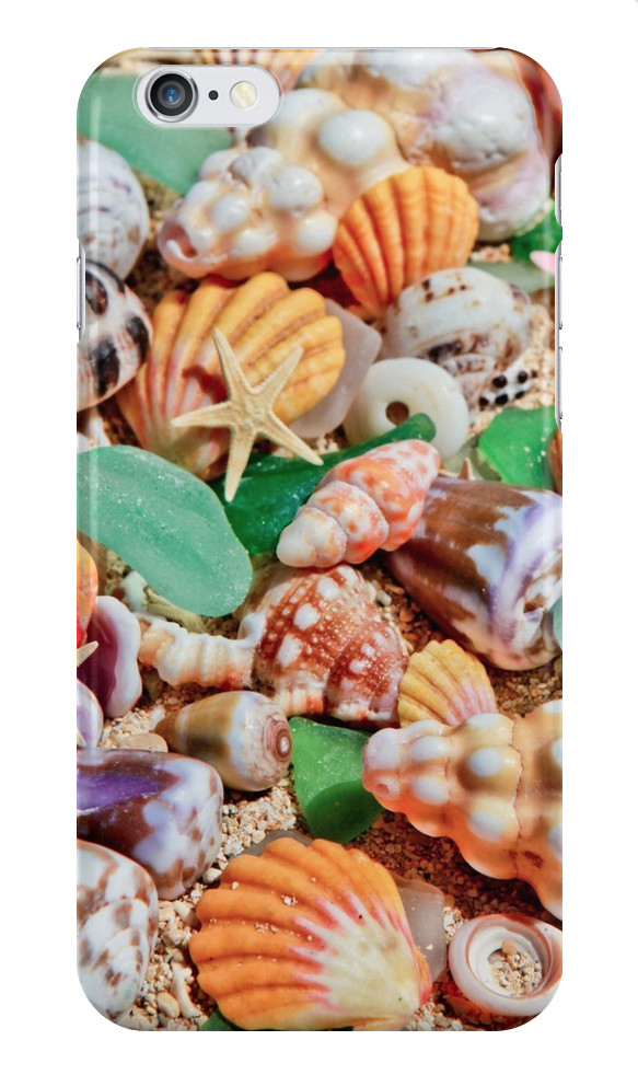 Seashells & Starfish iPhone Case