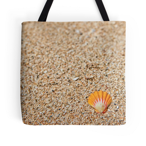 Solo Sunrise Shell Tote Bag