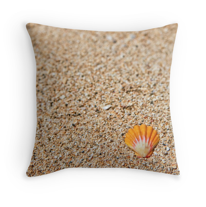 Solo Sunrise Shell Pillow
