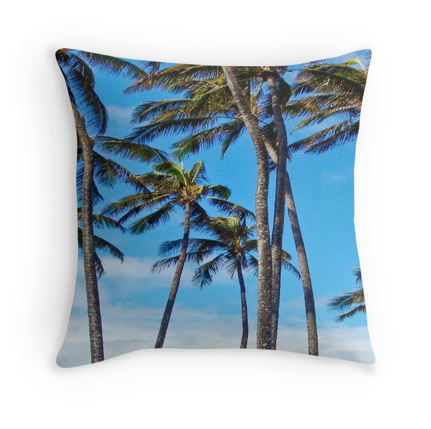 Sprecks Palms Pillow