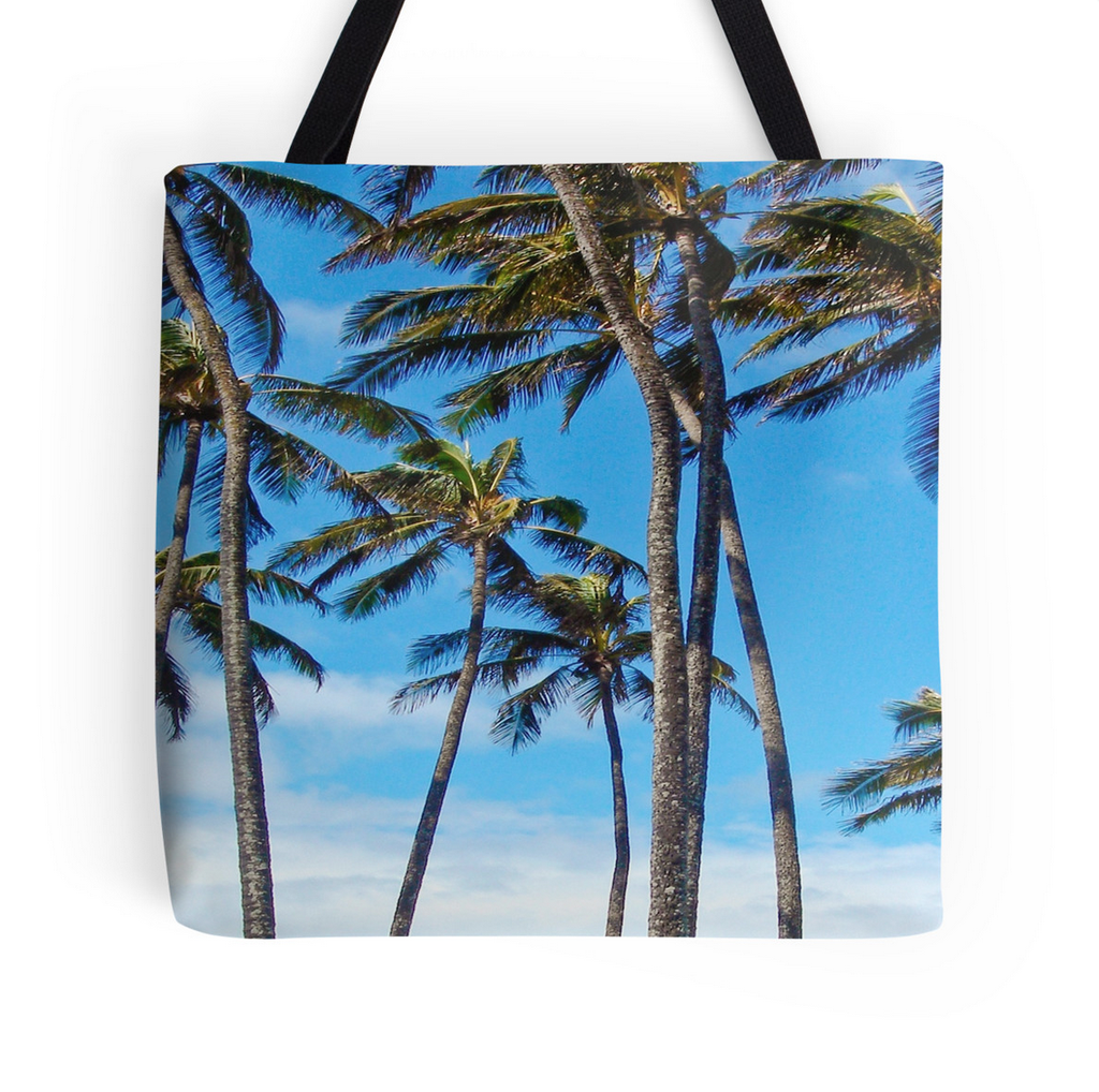 Sprecks Palms Tote Bag