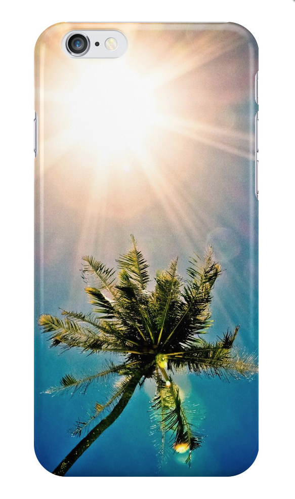 Sunburst Palm Tree iPhone Case