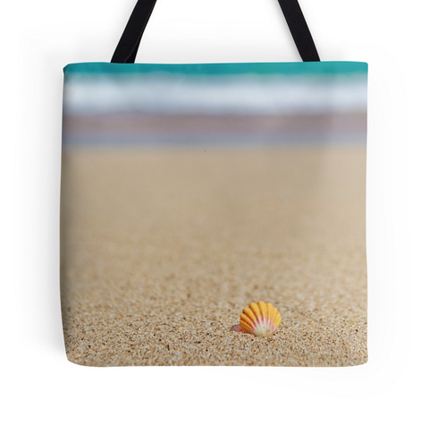 Sunrise Shell Beach Tote Bag