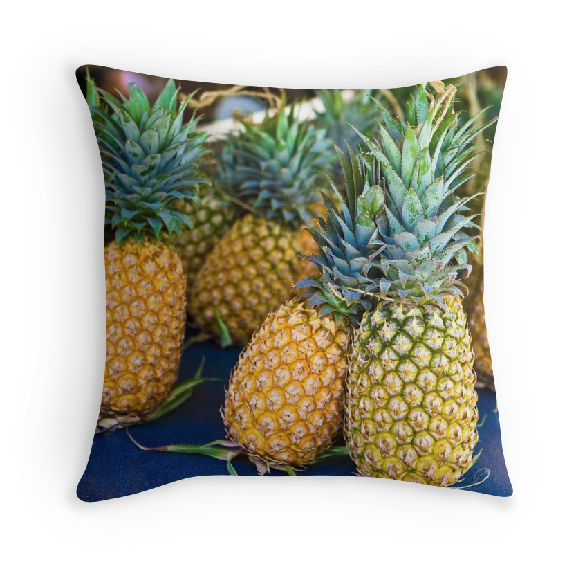 Tahitian Pineapple Pillow
