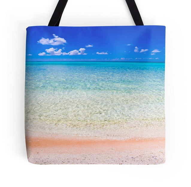 Tikehau Beach Tote Bag