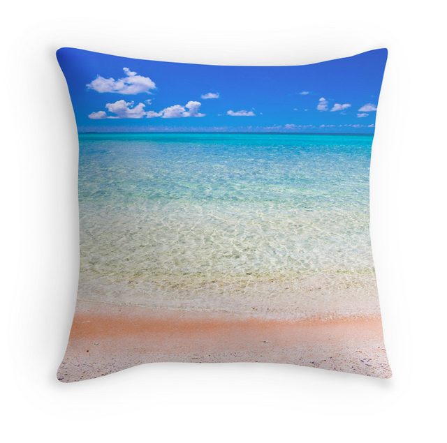 Tikehau Beach Pillow