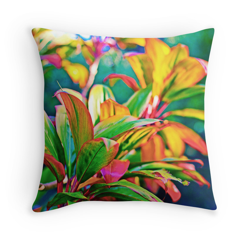 Twin Falls Ti Leaf Pillow