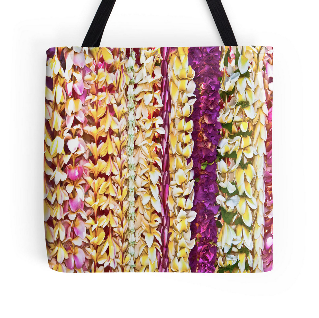 Hawaiian Leis Tote Bag