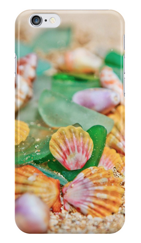 Sunrise Shells & Sea Glass iPhone Case