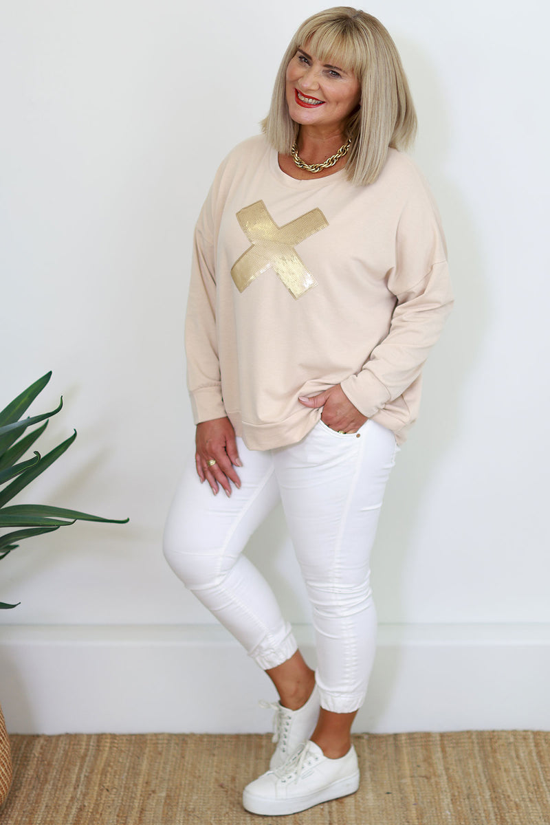 Mia Shirt Knit - Grey