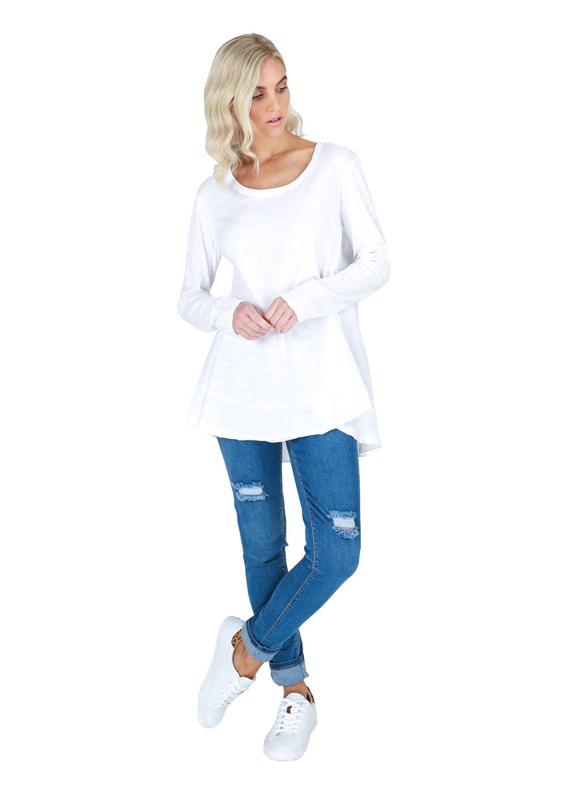 Curvy Long Sleeve Tee