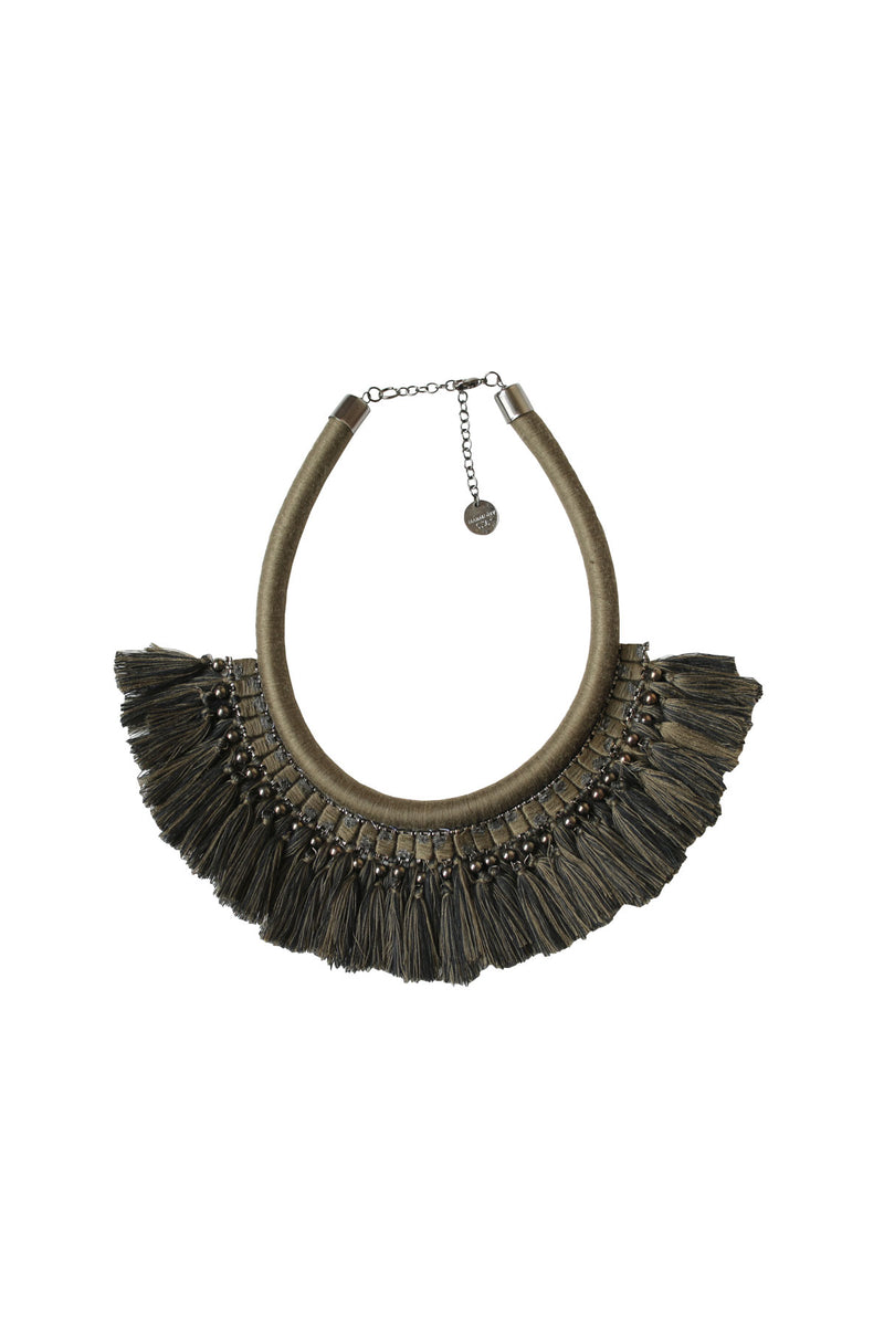 Layered Tassel Necklace (3 Colours)