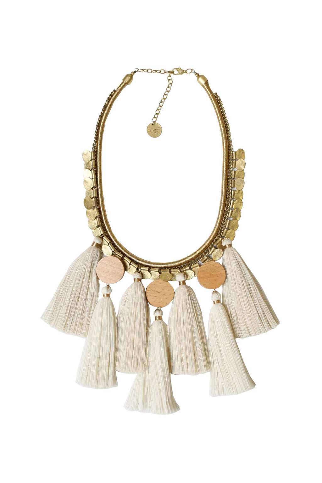 Timber & Tassel Necklace