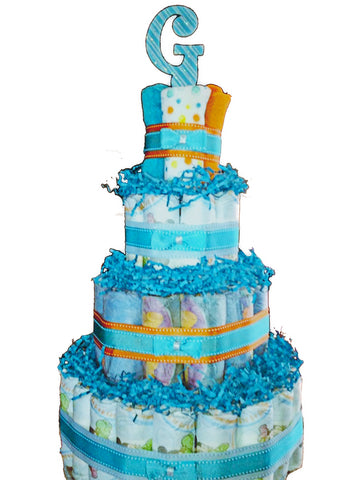 Extra Large Diaper Cake- 4 Levels