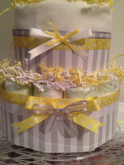 Diaper Cake Detail Bows