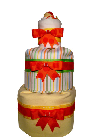 3 Tier Blanket Diaper Cake