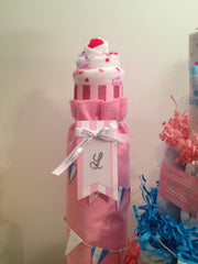 Happily Ever After Diaper Cake Castle