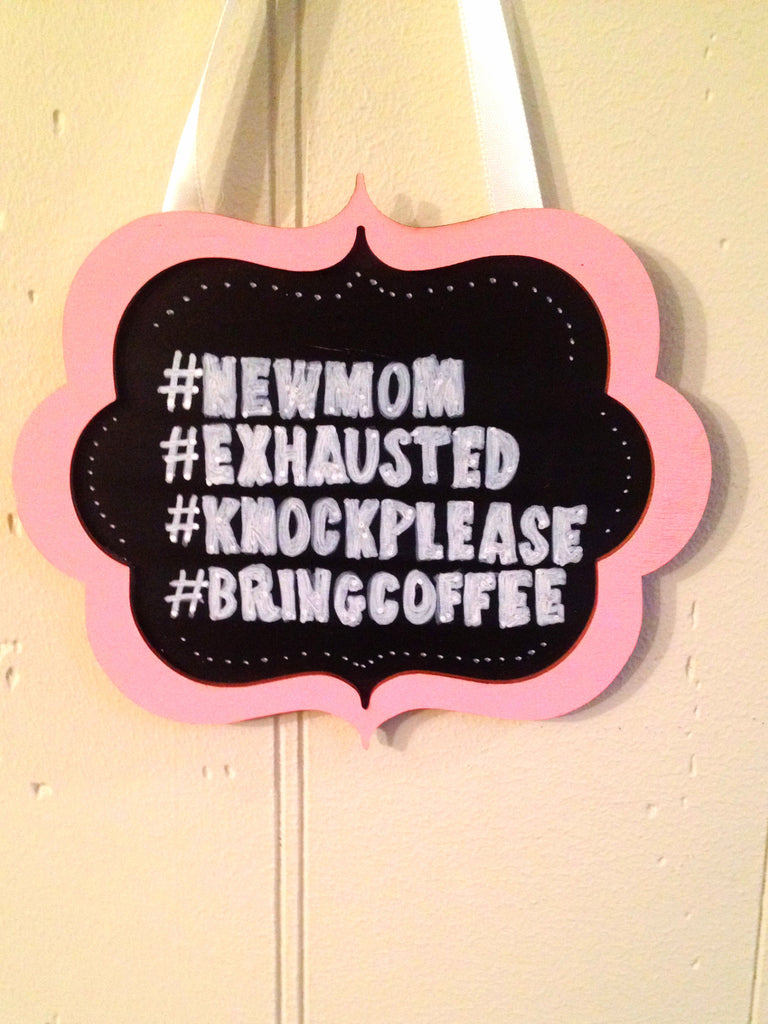 Doorbell Sign- #KNOCK